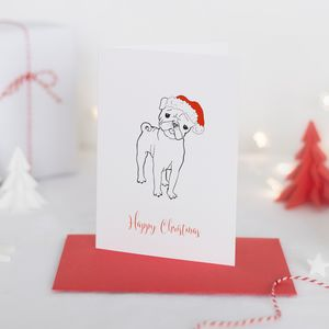 Christmas Card Maximus Party Pooch