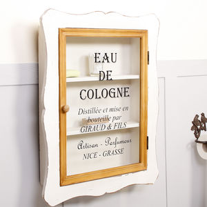 French Cologne Bathroom Storage Cabinet