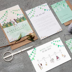 Forest Wedding Stationery Suite - wedding stationery