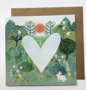 The Heart Of Nature Valentine Card
