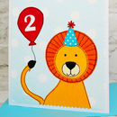 Personalised Birthday Card For Boys or Girls - Any Age