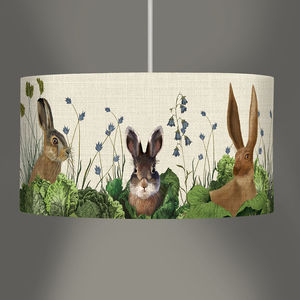 Cabbage Patch Rabbit Lampshade - office & study
