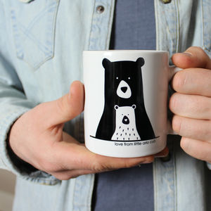 Bear Daddy And Me, Personalised Mug - summer sale