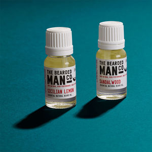 Set Of Two Beard Oils - stocking fillers