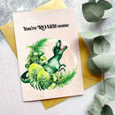 You're Roarsome Dinosaur Necklace Gift