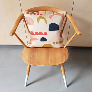 Shapes Cushion - living room