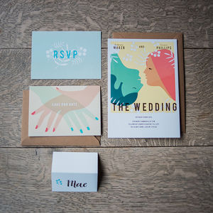 Vintage Movie Wedding Stationery Collection - invitations