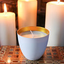 Christmas Candle, Frankincense, Myrrh And Gold