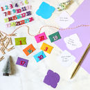 Colour Pop Mini Envelope Advent Calendar Kit