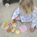 Wooden Sandwich Shop Play Set
