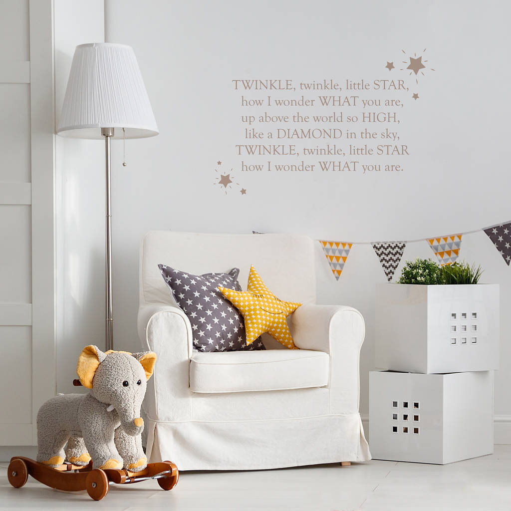 Le Nursery Rhyme Wall Sticker