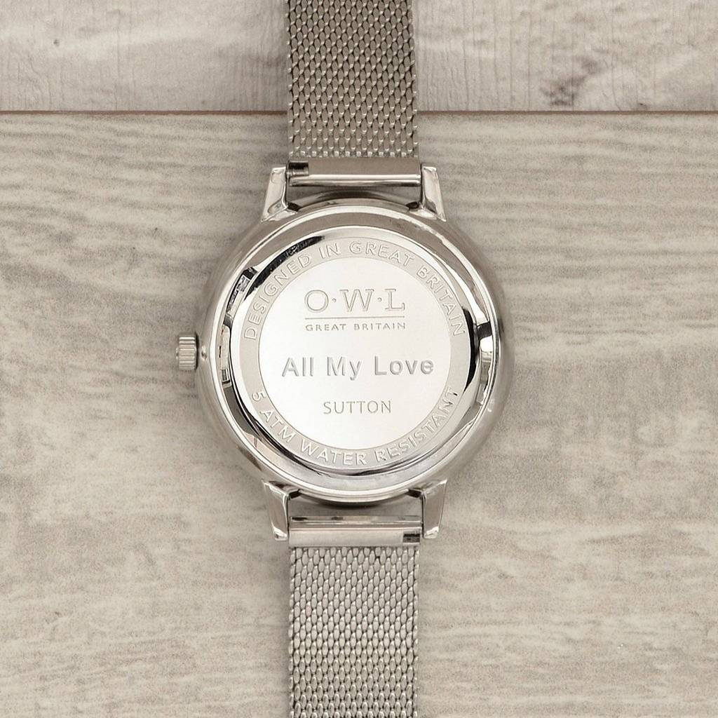 strap ladies from watches image sarah silver watch skagen mesh