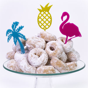 Tropical Cake Topper Pack - on trend: tropical