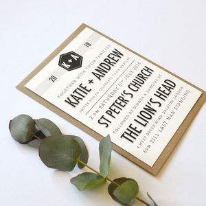 Wedding Stationery Personalised Banner Collection - what's new