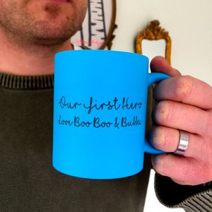 Neon Dad Hero Mug - dining room