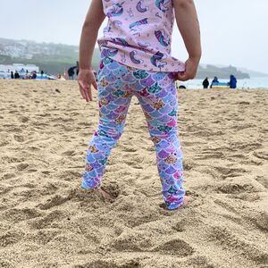 Mermaid Pattern Children's Leggings
