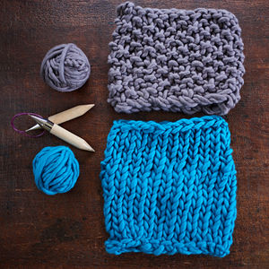 Knit Kit For Chunky Knit Snood - creative kits & experiences