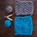Knit Kit For Chunky Knit Snood