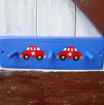 Car Peg Rack