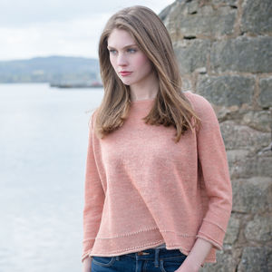 Alpaca And Linen Crop Jumper - maternity