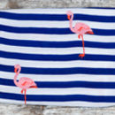 Flamingo Muslin Folded