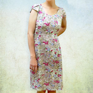 Floral 1950's Vintage Style Summer Dress - sale