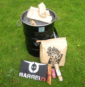 Festival Barrel Bbq Kit - aspiring chef