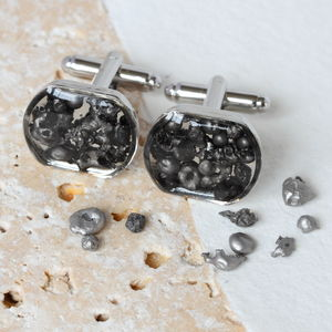 Meteorite Cufflinks - men's accessories