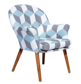 The New Beck Chair In Fabrics From Korla