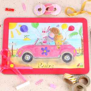 Daisy's Vw Beetle Placemat - kitchen