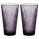 Set Of Four Spring Heather Luxury Coloured Glasses