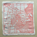 Shipping Forecast Area Map Hankie