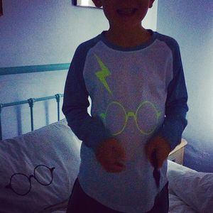 Wizard Inspired Glow In The Dark Pyjamas