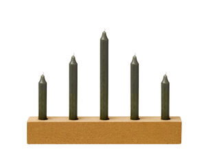 Natural Cork Candle Holder