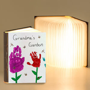 Create Your Own Magic Book Reading Light