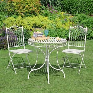 Parisian Bistro Garden Table And Chairs