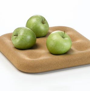 Natural Cork Tray For Fruit Half Price