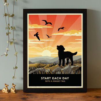 Limited Edition Cockapoo Print: Gift For Dog Lovers