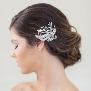 Janette Bridal Hair Comb - bridal hairpieces