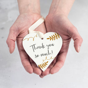 Personalised Thank You Gift - wedding favours