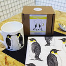 Penguin Mug and Tea Towel New Home Gift Set