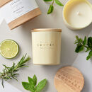 Peppermint, Lime And Rosemary Invigorate Soy Candle