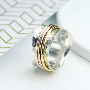 Whirl Spinning Ring - rings