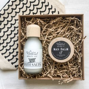 Natural Handmade Grooming Gift Set For Him - gift sets