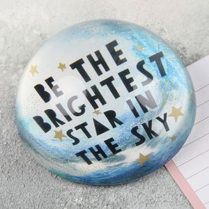 'Brightest Star' Paperweight