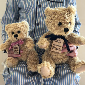Personalised Siblings Teddy Bears