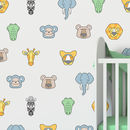 Jungle Animal Fabric Wall Stickers