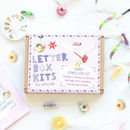 Donut Jewellery Craft Letterbox Kit