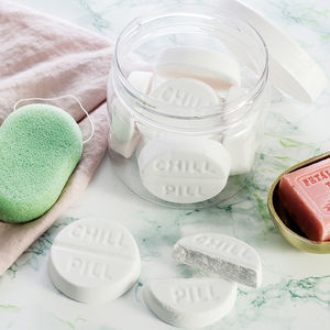 Chill Pill Bath Bombs - stocking fillers