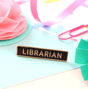 Librarian Enamel Pin